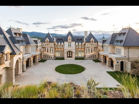 Best Visualization Tools - Luxury 21,000 SQ. FT $17 Million Château in Colorado USA *MUST SEE*