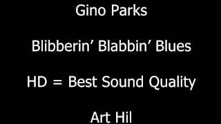 Gino Parks - Blibberin