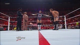 CM Punk takes a field sobriety test: Raw, April 23, 2012