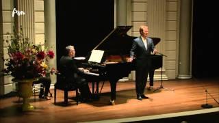 Schubert: Schwanengesang door Thomas Oliemans & Malcolm Martineau - Live concert HD