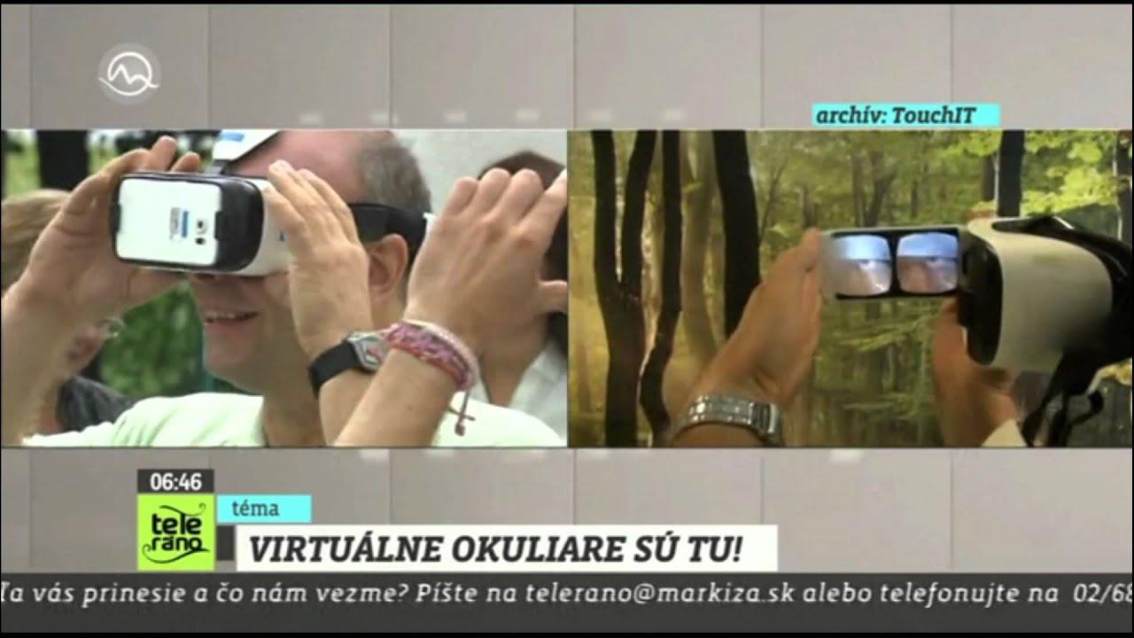 6a71ed6a5 Teleráno: Samsung Gear VR Part 1 - YouTube