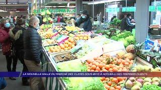 Yvelines | La nouvelle halle du marchés des Clayes-sous-Bois a accueilli ses premiers clients