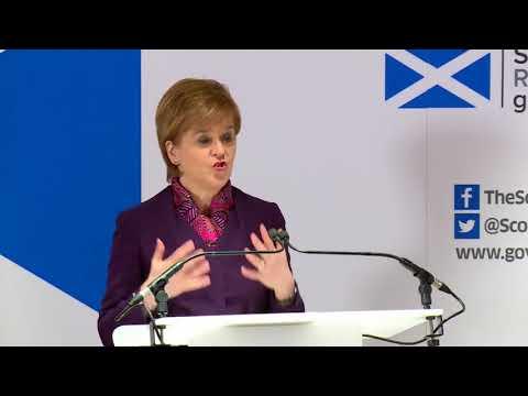 Nicola Sturgeon speech: Brexit Report by Scottish Govt