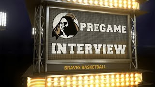 Braves Pregame Interview: Basketball at Young Harris thumbnail