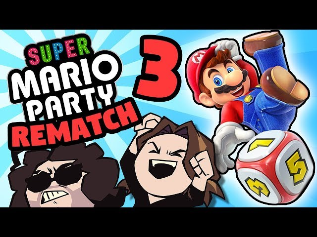 Super Mario Party - The REMATCH: Blocking It Out - PART 3 - Game Grumps VS