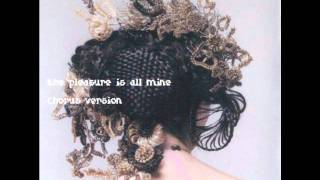 Björk-The pleasure is all mine (Chorus Version)