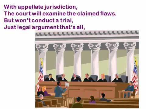The Court System Song