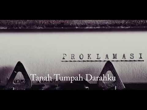 Lagu kebangsaan Indonesia Raya (HD resolution) with teks