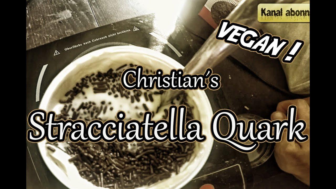 rezept veganer stracciatella quark youtube. Black Bedroom Furniture Sets. Home Design Ideas