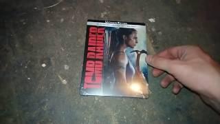 Unboxing Steelbook Tomb Raider 4K
