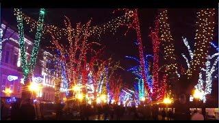 Одесса 2017. Новогодний Приморский бульвар - Odessa New Year 2017 Primorsky Boulevard