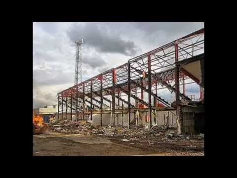 The Abandoned Football Stadium UK Episode 1 - Belle Vue Doncaster Rovers