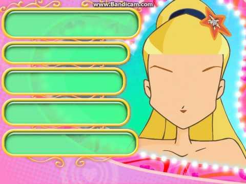 Игра Стиль куклы Винкс онлайн Winx Dolls Makeover