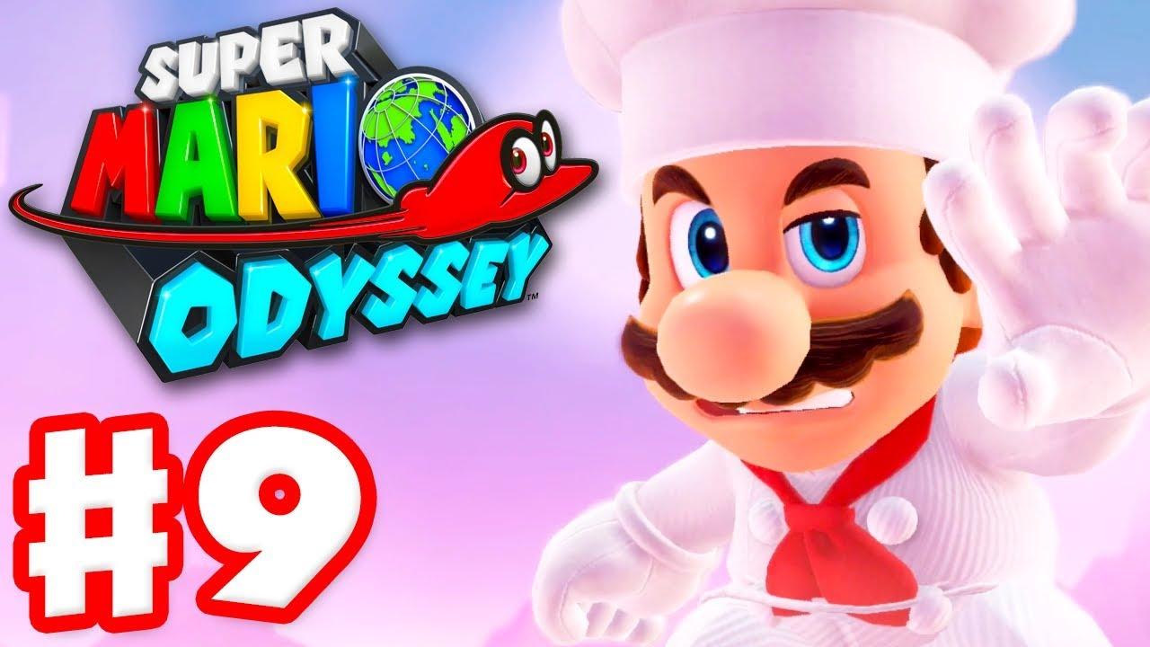 Super Mario Odyssey - Gameplay Walkthrough Part 9 - Luncheon Kingdom!  (Nintendo Switch)