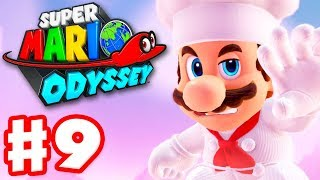 Super Mario Odyssey - Gameplay Walkthrough Part 9 - Luncheon Kingdom! (Nintendo Switch)