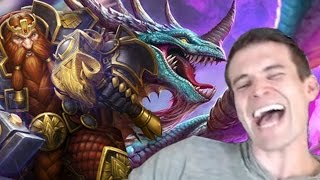 (Hearthstone) Hitting Legend with Dragon Warrior