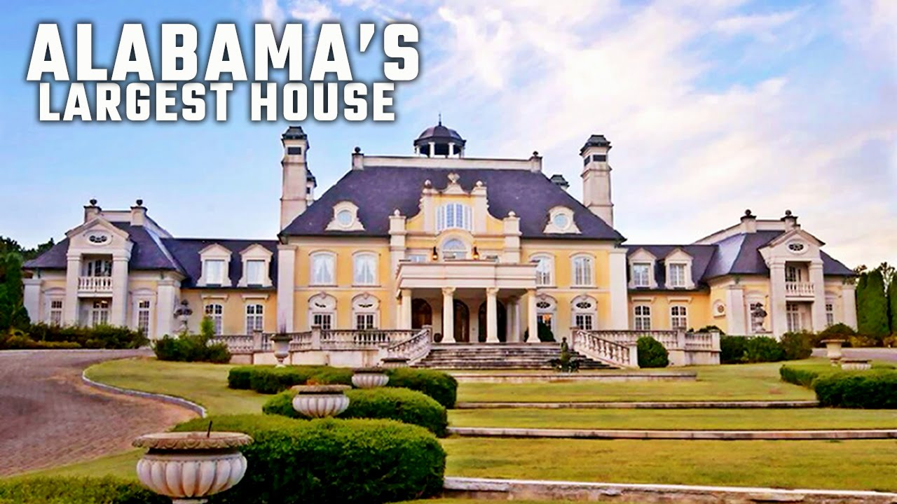 Inside alabama 39 s largest house youtube for House builders in alabama