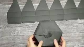 六角爆炸盒子製作過程