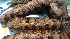 Кебапчета на скара, като едно време, сочни, вкусни, само натурални съставки  - SUB -  Yami Yami