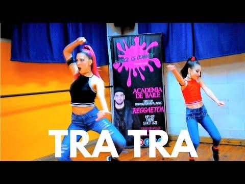 Tra Tra - Nfasis / REGGAETON BY ROCIO RAMIREZ / Dance is convey (HD) thumbnail