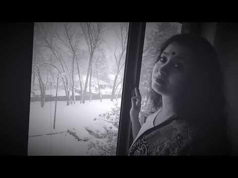 Aj Jemon Kore Gaiche Akash | Tagore Song | Madhurima Sen
