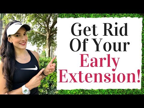 Fix Your Early Extension - Golf Fitness Tips