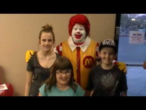 "Sean Murray's First 2014 visit to McDonald's (for ""Family McFun Night"") - Henderson, NV - 2/17/2014"