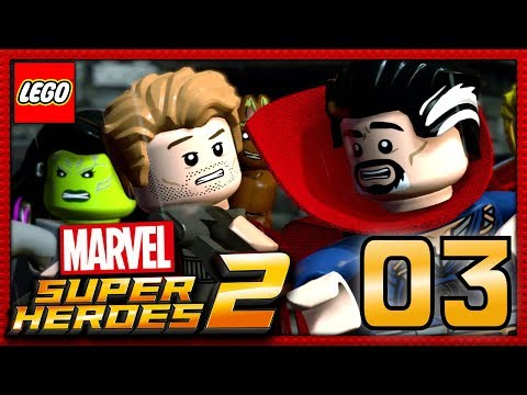 LEGO MARVEL SUPER HEROES 2 COOP EPISODE 3 | DOCTOR STRANGE NOUS AIDE !