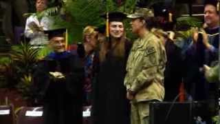 Navy lieutenant surprises sister at Florida State graduation thumbnail