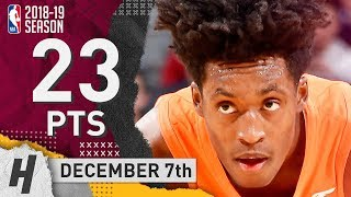Collin Sexton Full Highlights Cavaliers vs Kings 2018.12.07 - 23 Pts, 2 Ast!