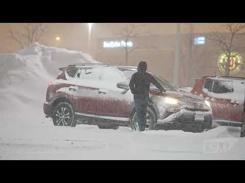 2-15-2021 Chicago, IL - Lake Effect and Winter Storm Pound Chicago Metro