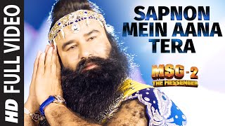 Sapnon Mein Aana Tera FULL VIDEO Song | MSG-2 The Messenger | T-Series