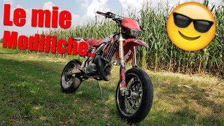 TUTTE LE MODIFICHE DELLA MIA MOTO!!  /Honda Cr 125/