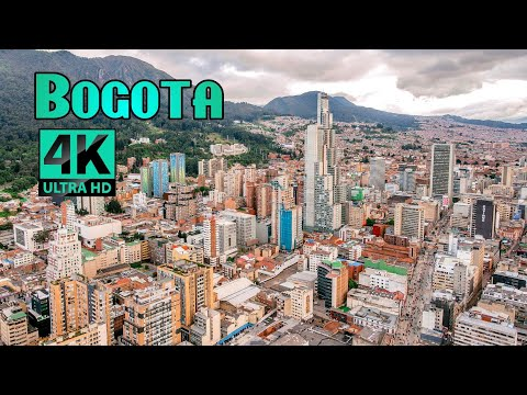 Bogota, Colombia - by drone [4K]