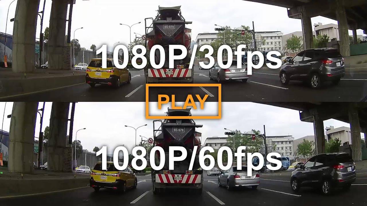 1080p @30fps v s  1080p @60fps