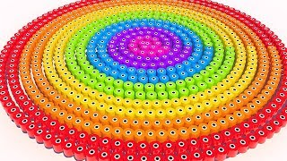 Learn Colors with Spiral Sushi for Kids and Children