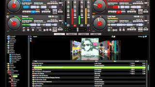 Gambar cover NON STOP MIX using vdj (DJ DHARS ft.dj RVN)2011 REMIX - YouTube.flv