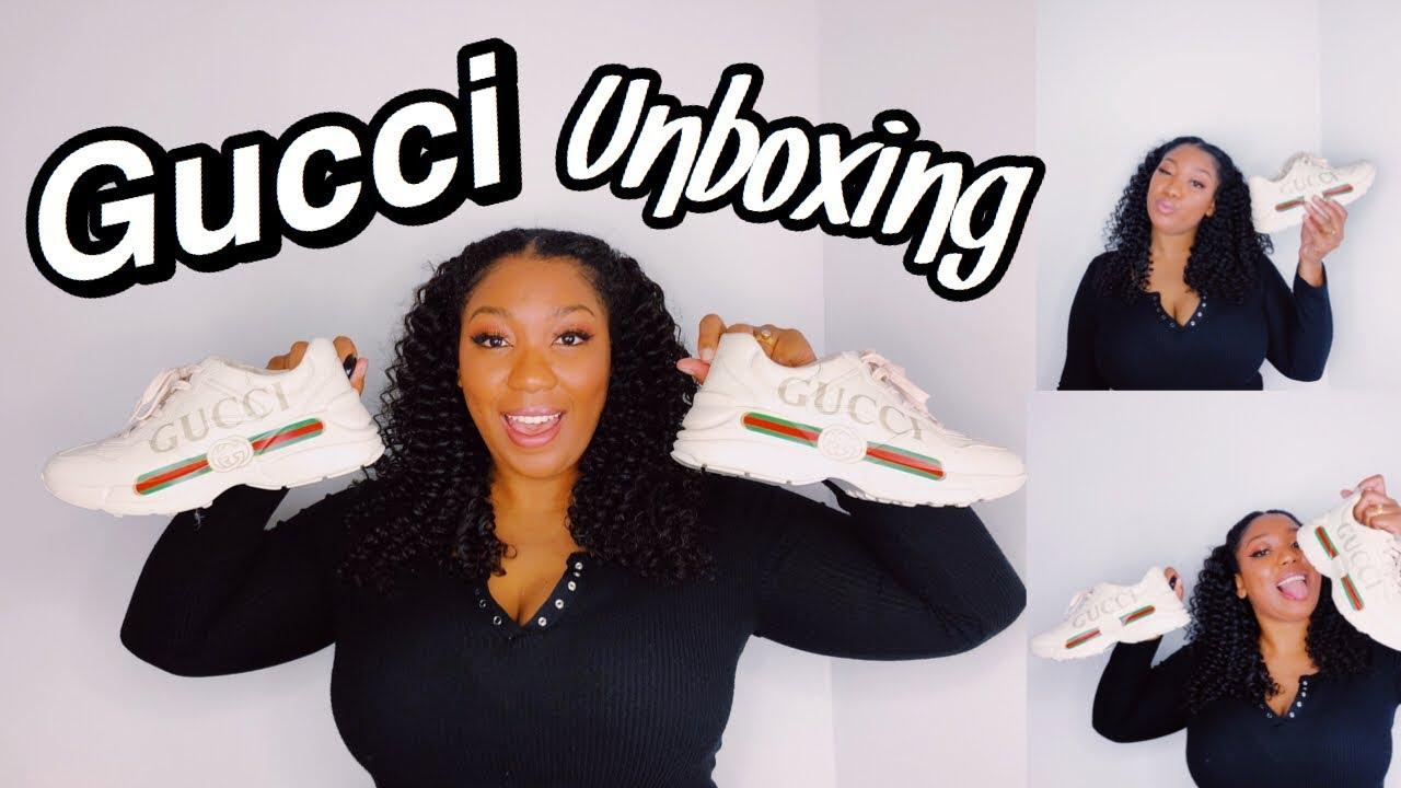 ed1eda356d3 Luxury Shoe Review  Gucci Rhyton Unboxing