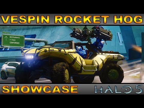 Vespin Rocket Warthog - Legendary Vehicle Showcase - Halo 5 Guardians