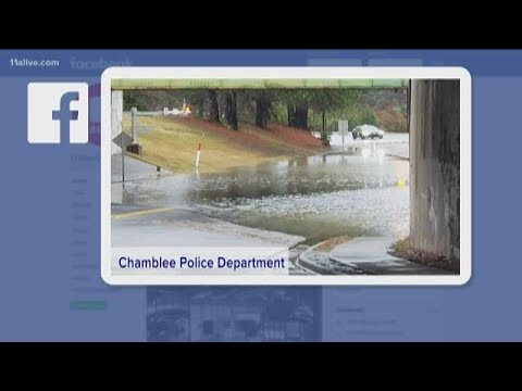 Chamblee Police Forced To Close Parts Of Chamblee- Dunwoody Road