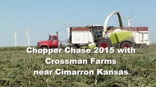 Chopper Chase 2015 Crossman Farms near Cimarron Kansas