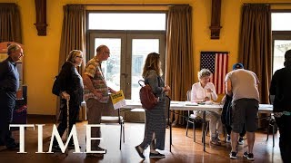 The 2018 Elections Saw Record Midterm Turnout   TIME