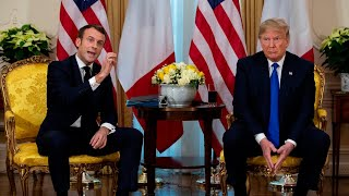 Trump hits back at France over 'nasty' and 'insulting' NATO comments
