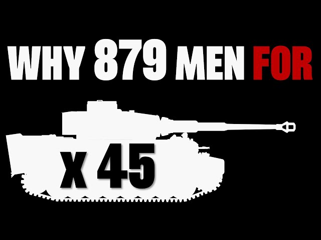 Why 879 Men for 45 Tigers?