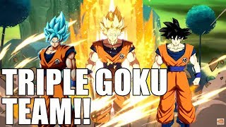 I thought Triple Goku was a bad team, but this guy proved me wrong!