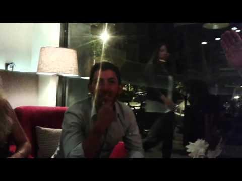 Pablo Larrazábal nos recibe en su restaurante Cocomo