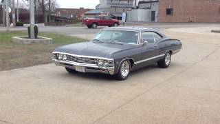 """1967 Chevy Impala Exhaust  Flowmaster 3"""" Duals"""