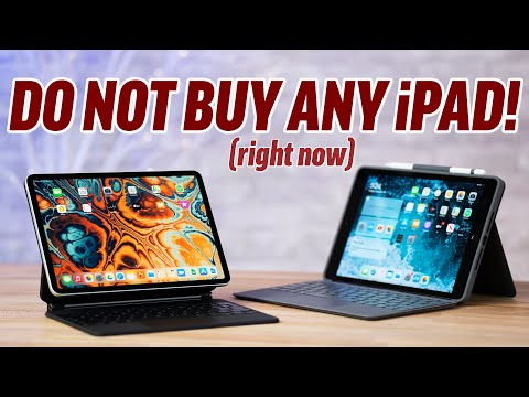 STOP! Don't buy ANY Apple iPad right now!
