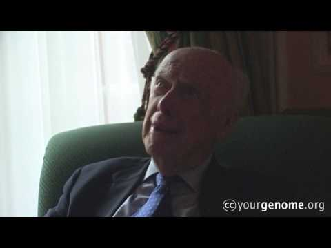 James D. Watson: having my genome sequenced