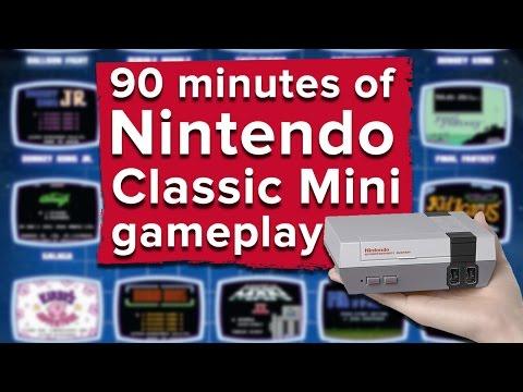 90 minutes of Nintendo Classic Mini: NES gameplay - Live stream